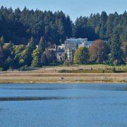 Hatley Castle From Across The Lagoon