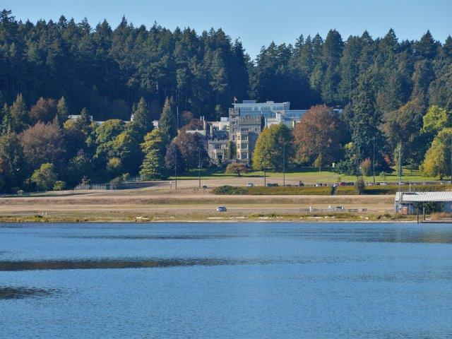 Hatley Castle From Across The Lagoon