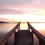 Morning Sunrise From The Landing