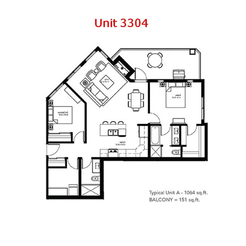 Unit 3304