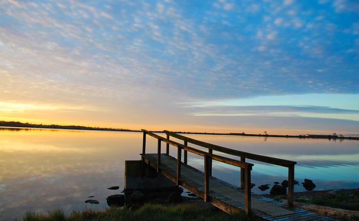 Pacific Landing Morning Sunrise